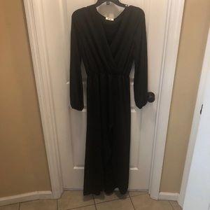 Boutique Black Maxi Dress